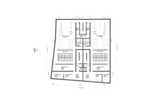 Plan R+2 (Salle de sports)