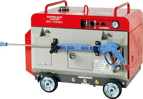 300kg圧防音型ガソリンエンジン高圧洗浄機