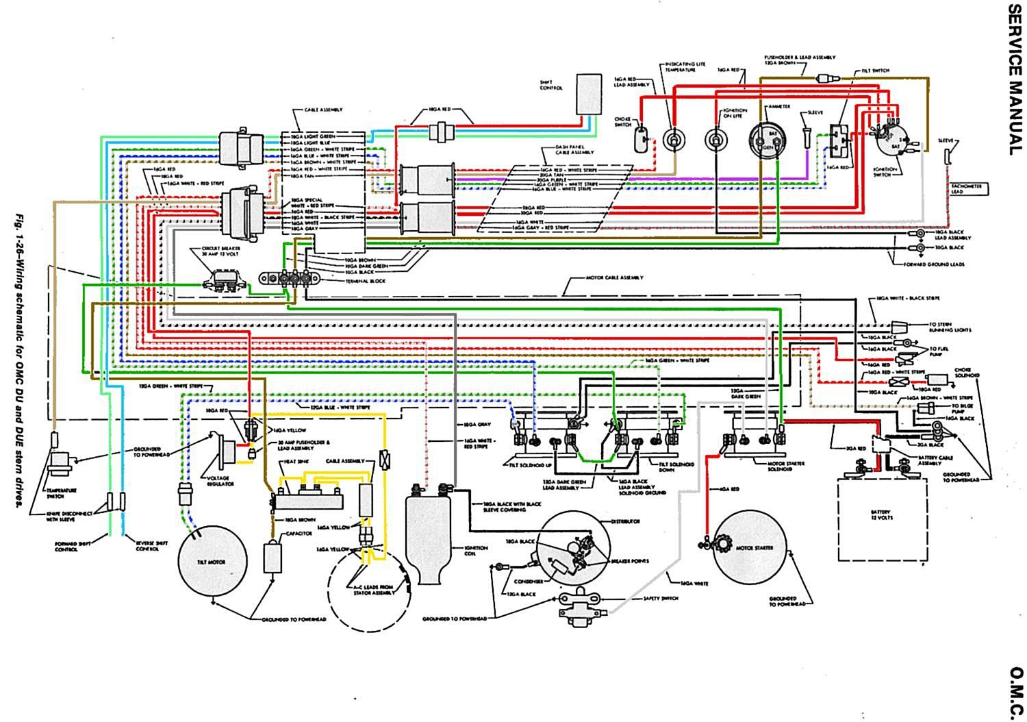 1987 Omc Wiring Diagram - Wiring Diagram Img Omc Zylinder Wiring Diagrams on