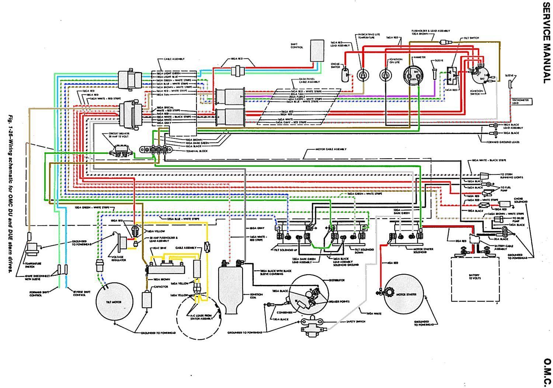 1987 Omc Wiring Diagram - Wiring Diagram Img Omc Co Tilt Trim Wiring Diagram on