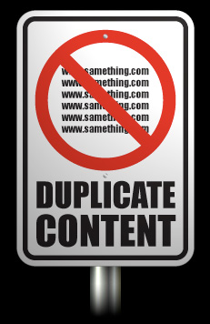 Como evitar contenido duplicado en google