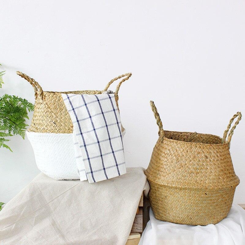 panier de rangement décoratif couleur style scandinave
