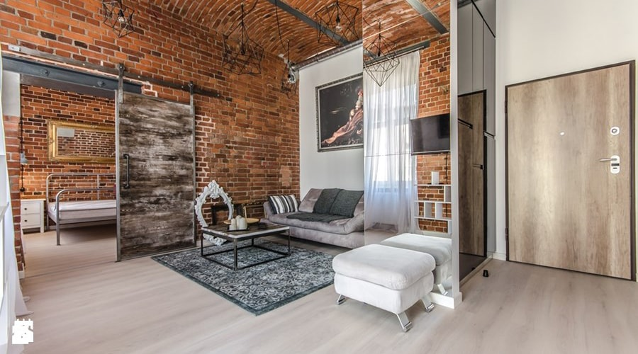 les murs style décoration industrielle