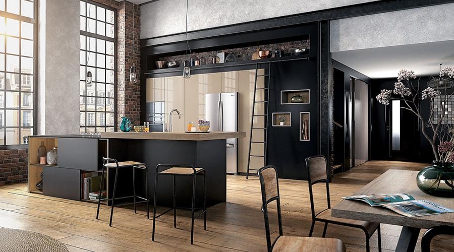 meubles style décoration industrielle