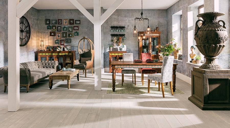 décoration intérieure de style vintage