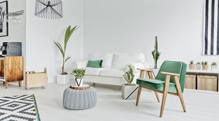 décoration plantes intérieur scandinave