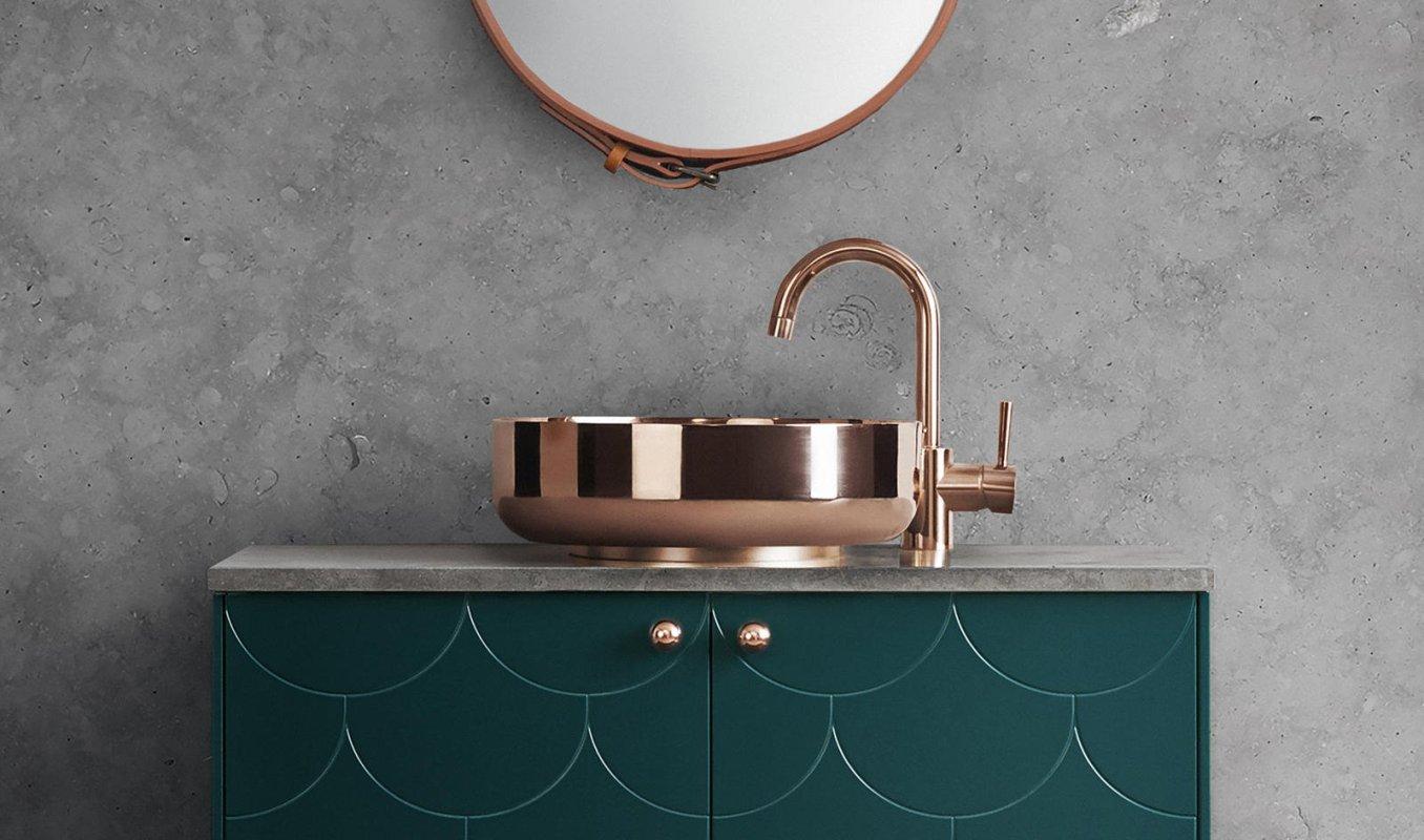 décoration tendance robinet cuivre