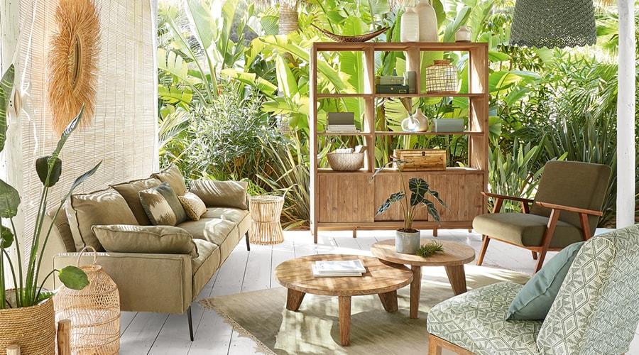 plantes décoration ambiance zen naturel