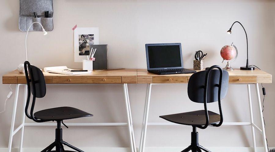 bureau chez soi espace partagé