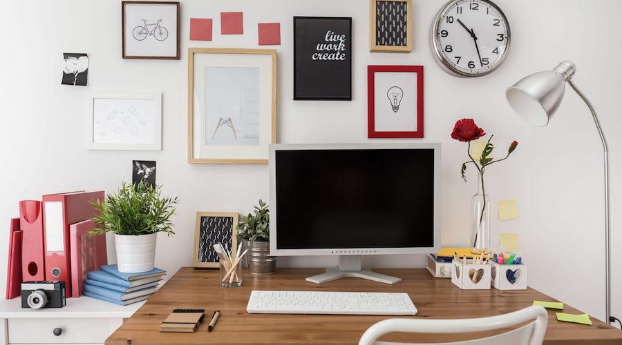 bureau chez soi décoration intérieur