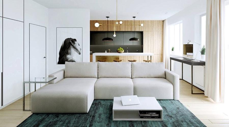 maison relaxante minimaliste sans perturbations