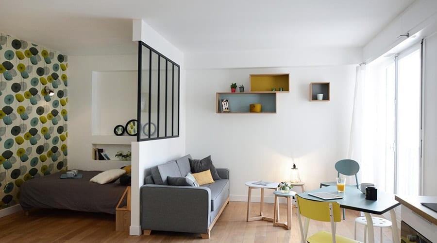 intérieur relaxant salon dans chambre