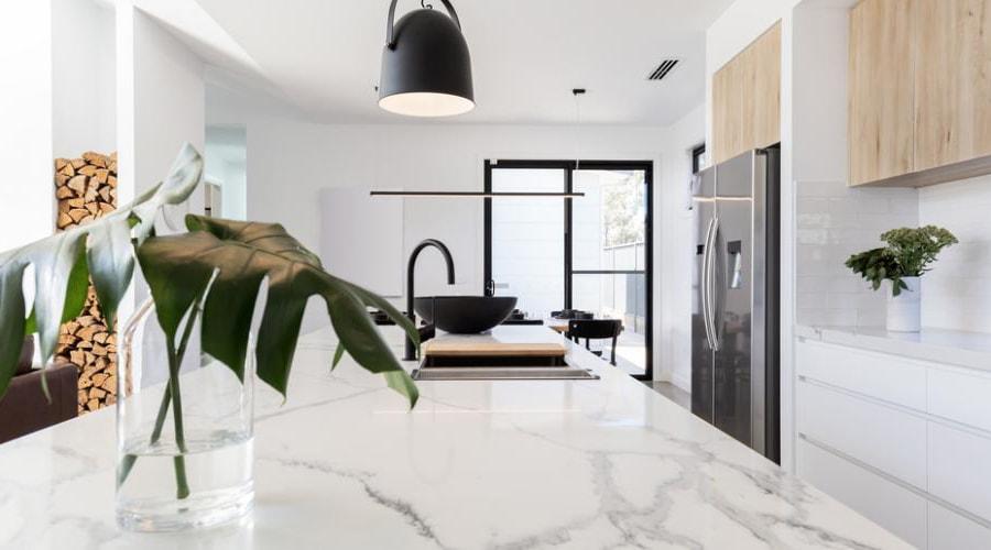 marbre décoration cuisine design