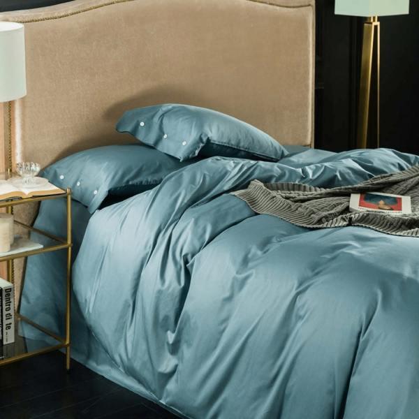 parure de lit unie ensemble de lit