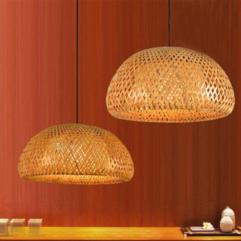 luminaire artisanal en bambou