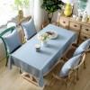 nappe en lin et coton aménagement de table