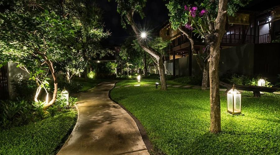 aménager son jardin avec un bon éclairage