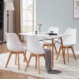 chaises salle à manger scandinave