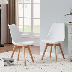 chaises scandinave bois moderne