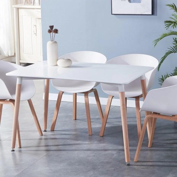 ensembles 4 chaise moderne deco scandinave