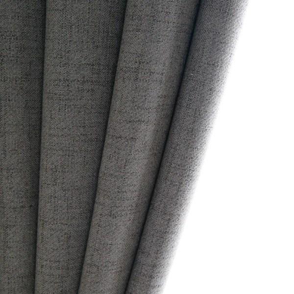 rideau en lin style nordique