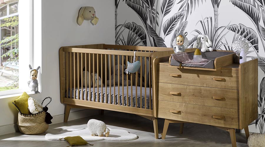 table à langer chambre bébé
