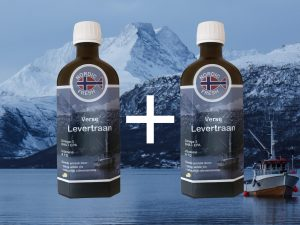 2x verse Levertraan (250ml)