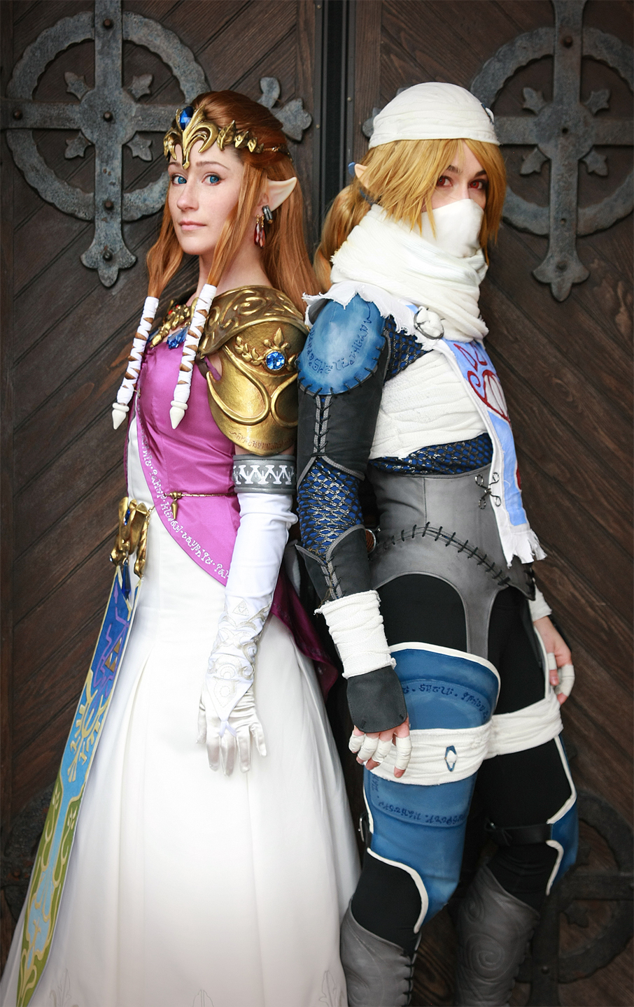 Cosplay ZELDA And SHEIK Are Two Halves Of The Same Awesome OMEGA LEVEL