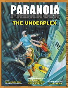 Cover of The Underplex Paranoia supplement