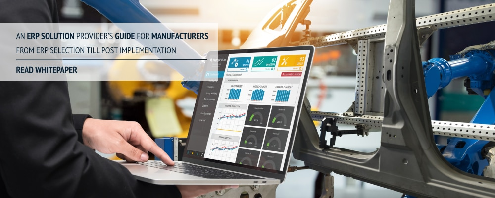 Whitepaper on ERP Solution Provider's Guide for Manufacturers