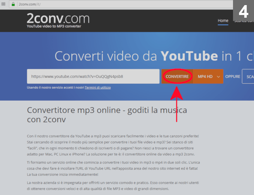Scaicare da Youtube 04