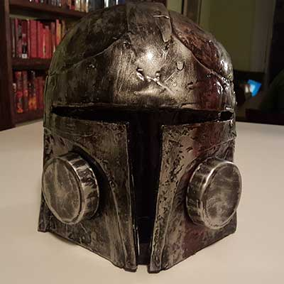 Blood Scar Helmet