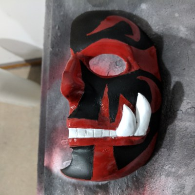 Umbra mask from Yugioh