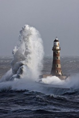 Lighthouse in Sunderland, England