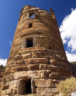 Andros Agios Petros tower