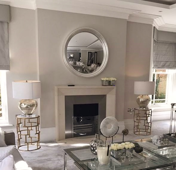 How To Decorate With A Round Mirror Omelo Decorative Convex Mirrors