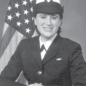 Nina Lingaur a veteran of the U.S. Navy