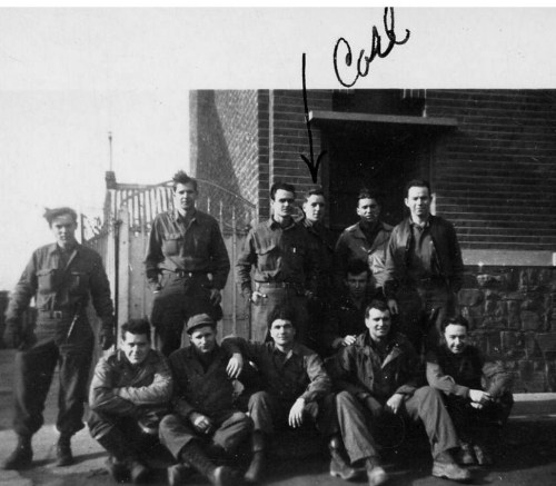 Group photo of WWII soldiers