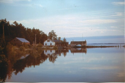 Schram and Bauer Fishing buildings