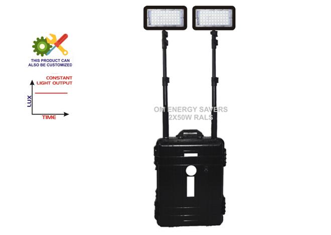 2x50 watt remote area lighting system