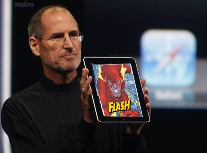 Flash en iPad