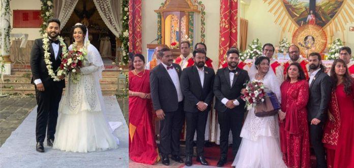 antony perumbavoor daughter marriage 1