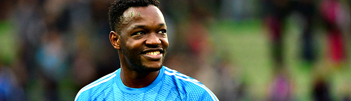 Steve MANDANDA - 04.10.2014 - Caen / Marseille - 9eme journee de Ligue 1 Photo : Dave Winter / Icon Sport