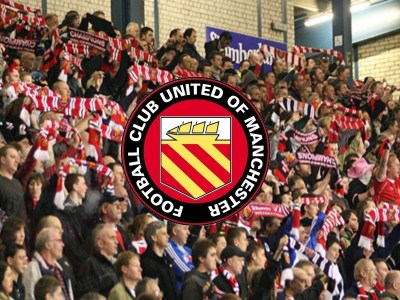 Les Socios du FC United of Manchester