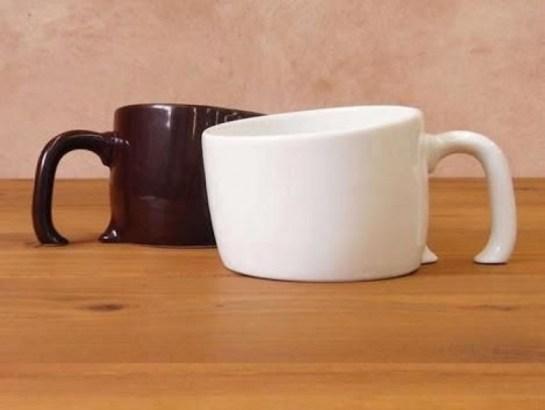 Surreal Melting Coffee Mugs