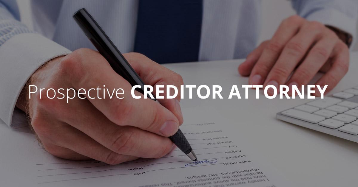 prospective-creditor