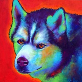 Malamute - Acrylic Pet Portrait