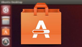 icono del centro de software de ubuntu