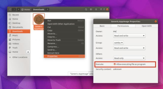 Como usar um AppImage no Ubuntu