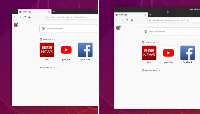 πράγματα να κάνουμε - Firefox με τίτλο και χωρίς